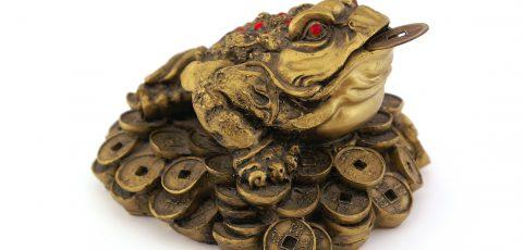 Chińska żaba finansowa – symbol bogactwa